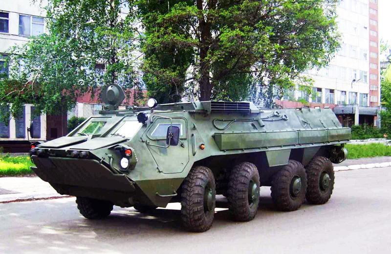 БТР-70 без головной башни